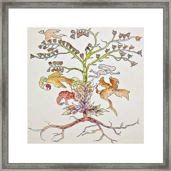 Garden Of Eve Framed Print