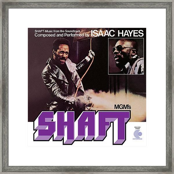 Isaac Hayes -  Shaft Framed Print