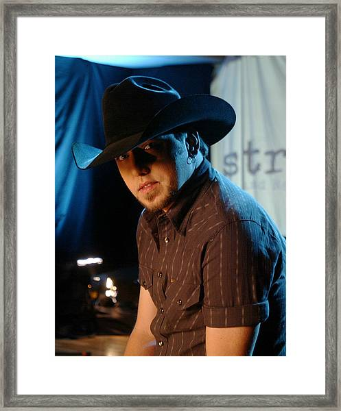 Jason Aldean Framed Print by Don Olea