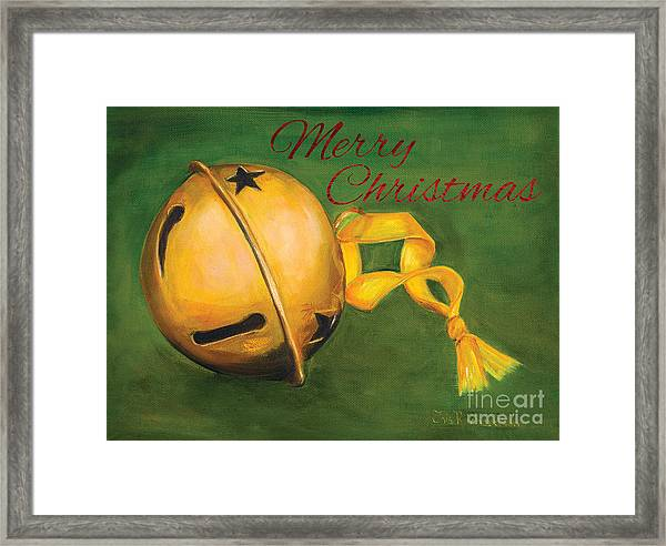 Jingle Bells Framed Print