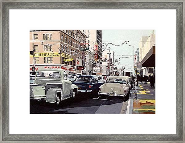 K Street Framed Print by Paul Guyer
