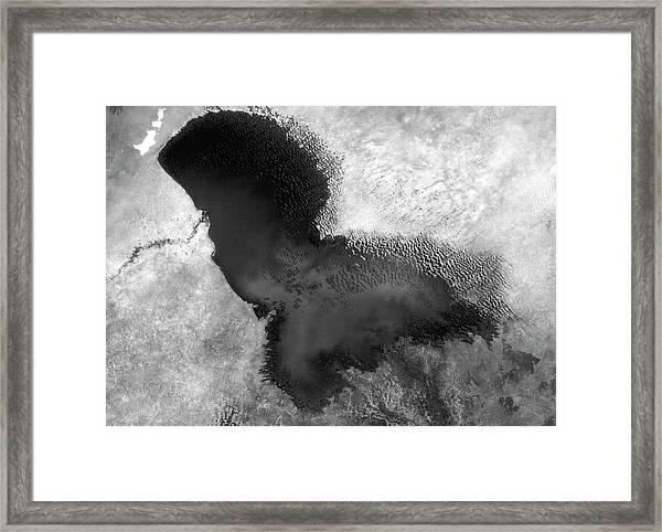 Lake Chad Framed Print by Nasa/science Photo Library