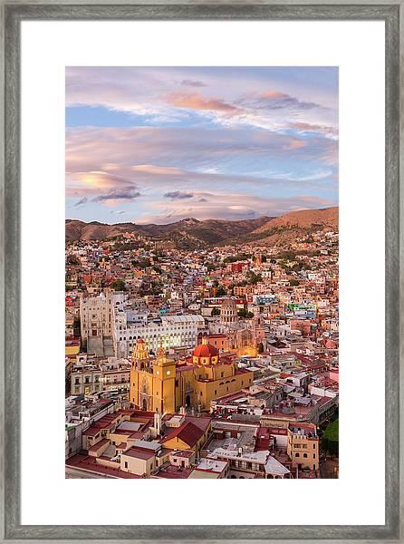 Mexico, Guanajuato Framed Print