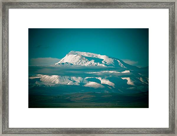 Framed Print featuring the photograph Mount Gurla Mandhata by Raimond Klavins