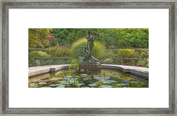Park Beauty Framed Print