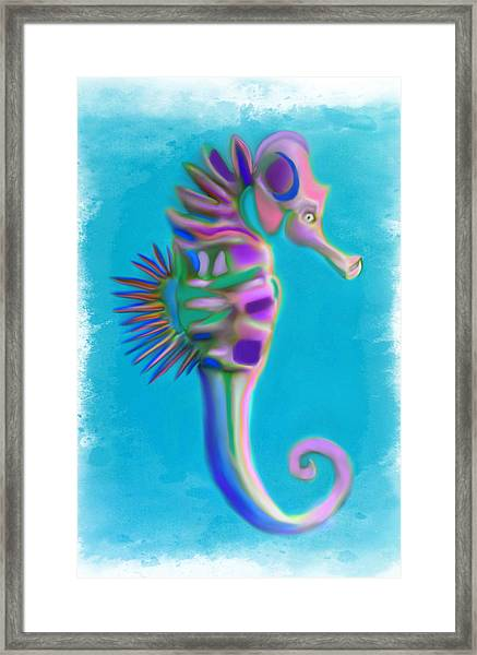 The Pretty Seahorse Framed Print
