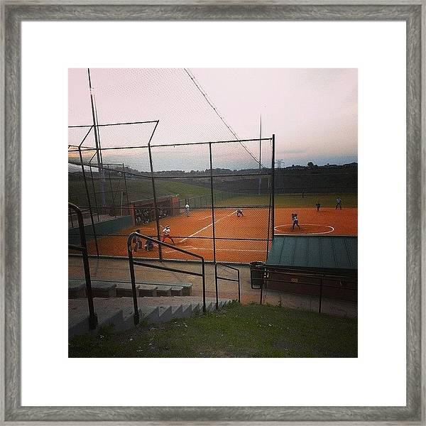 #shippensburg #softball #ntc #clermont Framed Print