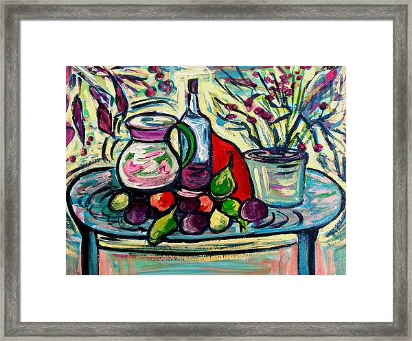 Summer Wine  Framed Print