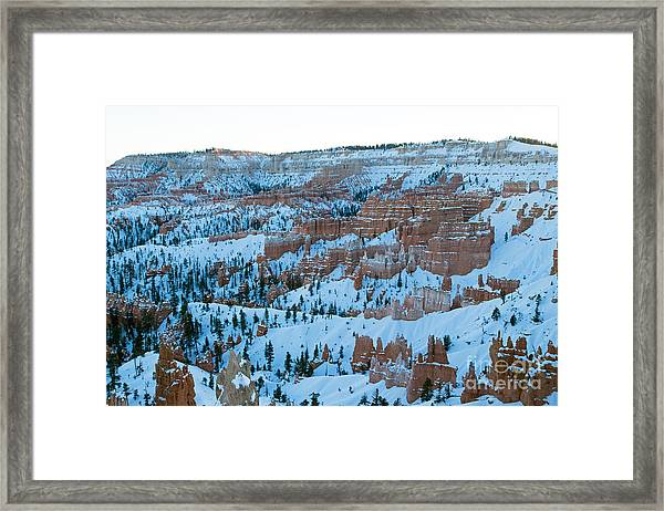 Sunrise Point Bryce Canyon National Park Framed Print