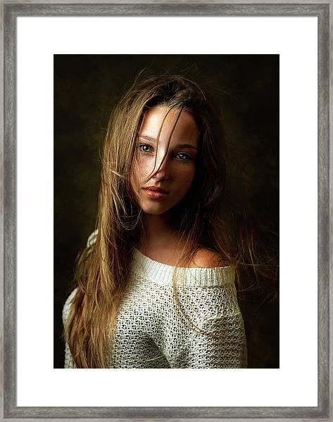 Tanya Framed Print