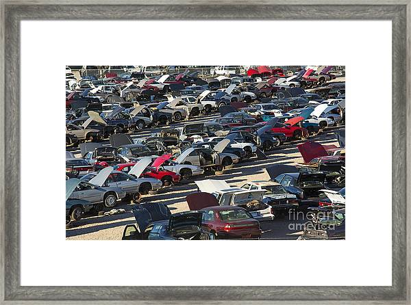 The End Of The Line Framed Print