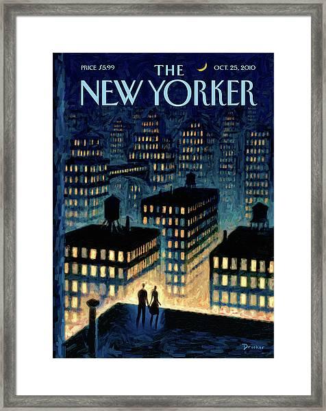 New Yorker October 25th, 2010 Framed Print