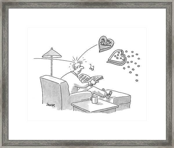 New Yorker February 11th, 2008 Framed Print