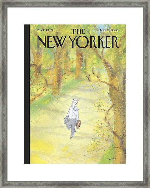 New Yorker August 21st, 2006 Framed Print
