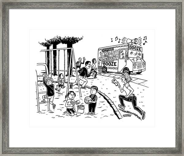New Yorker July 21st, 2008 Framed Print