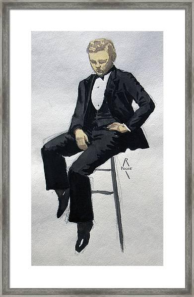 Gatsby Study 3 Framed Print