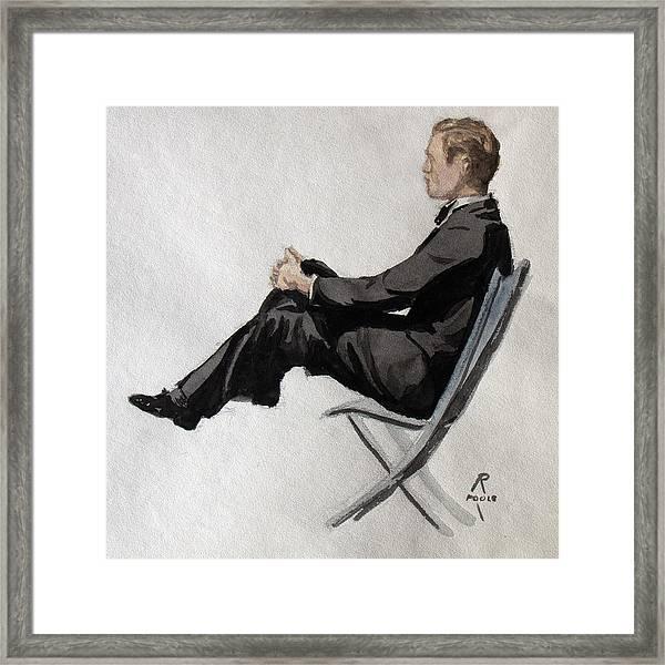 Gatsby Study 2 Framed Print