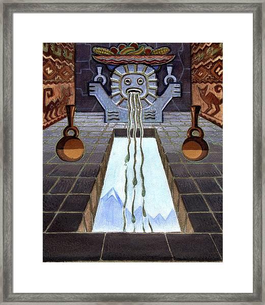 Mayan Passage Framed Print