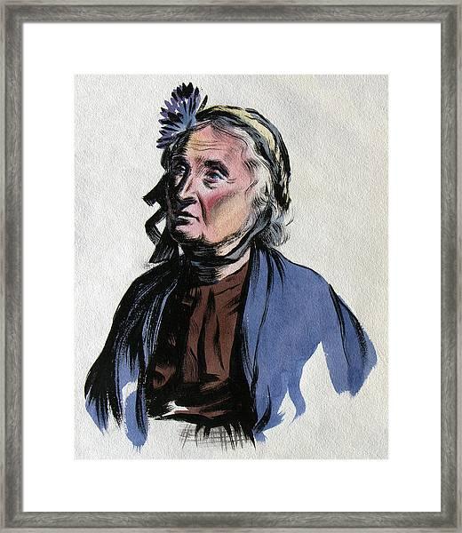 Aunt Edna Framed Print