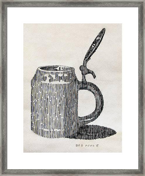 Stein Study Framed Print