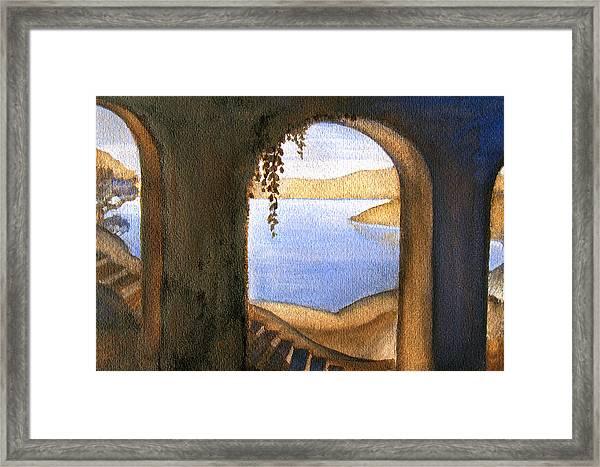 Parrish Blue Framed Print