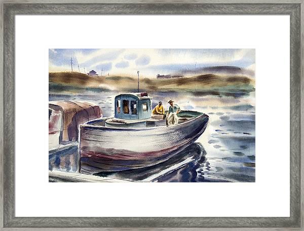 Gig Harbor Framed Print