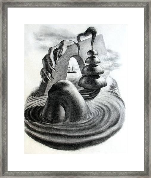Phantom Object Framed Print