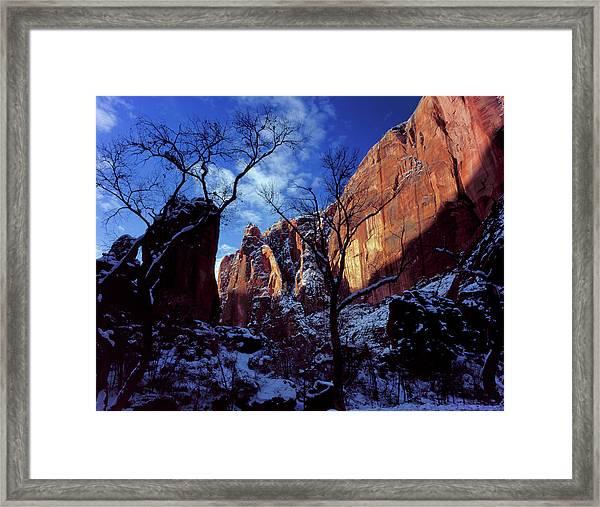 Zion National Park, Utah Framed Print