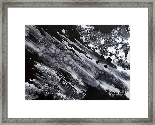 Boat Andtree Framed Print