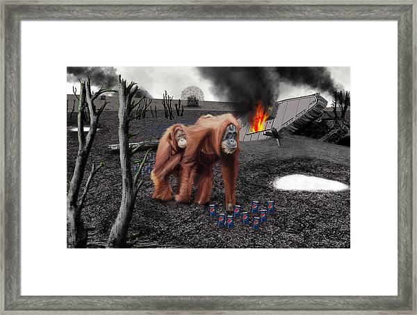 355ml Framed Print