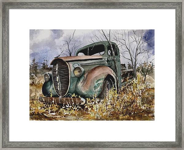 39 Ford Truck Framed Print