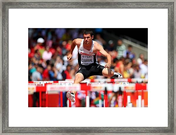 15th Iaaf World Athletics Championships Beijing 2015 - Day Five Framed Print by Alexander Hassenstein