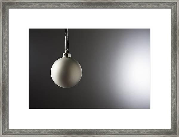 Christmas Bauble  Framed Print