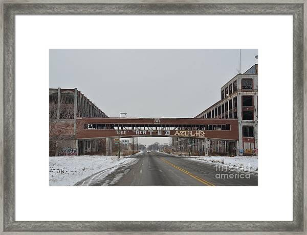 Detroit Packard Plant Framed Print