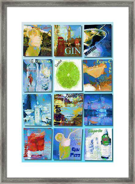 Gin Framed Print