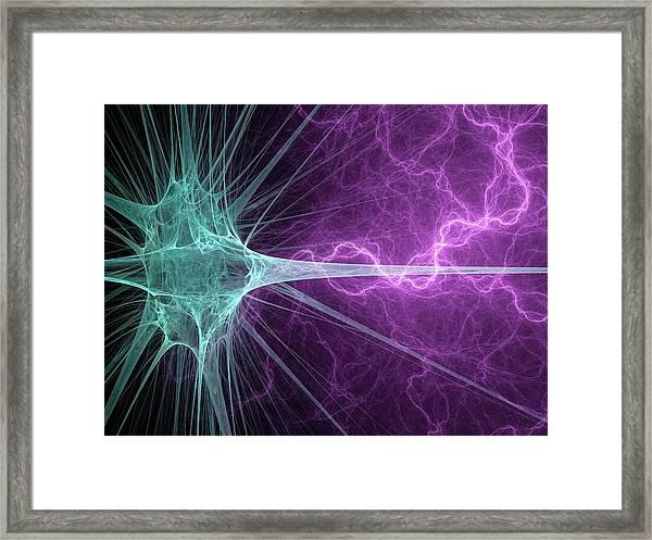 Nerve Cell Framed Print