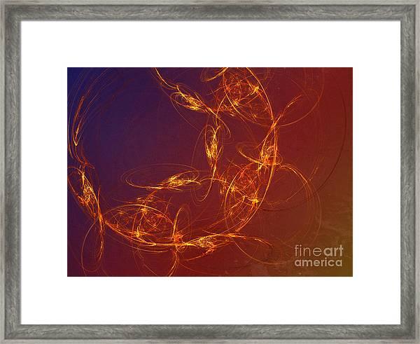 4 Rich Framed Print