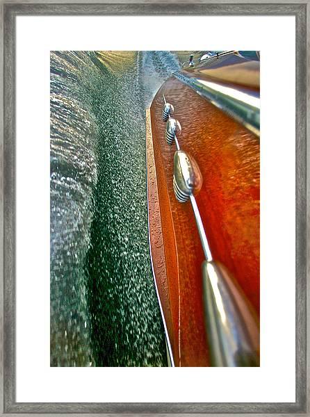 Classic Riva Aquarama Framed Print