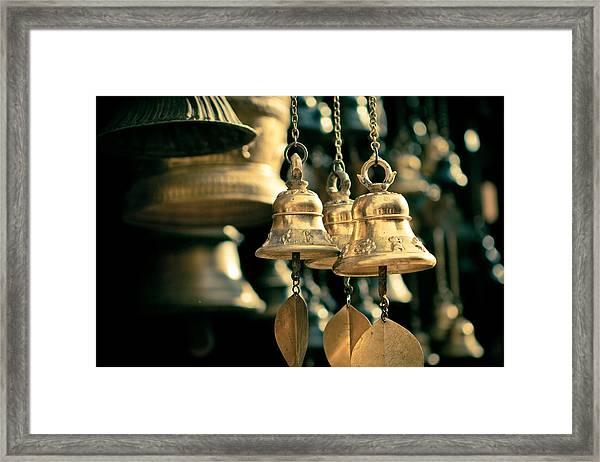 Sacrificial Bells Framed Print