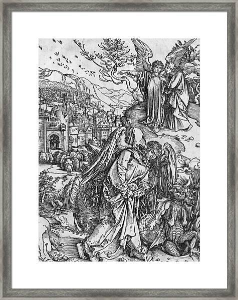Scene From The Apocalypse Framed Print