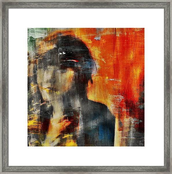 Shadows (portrait) Framed Print by Dalibor Davidovic