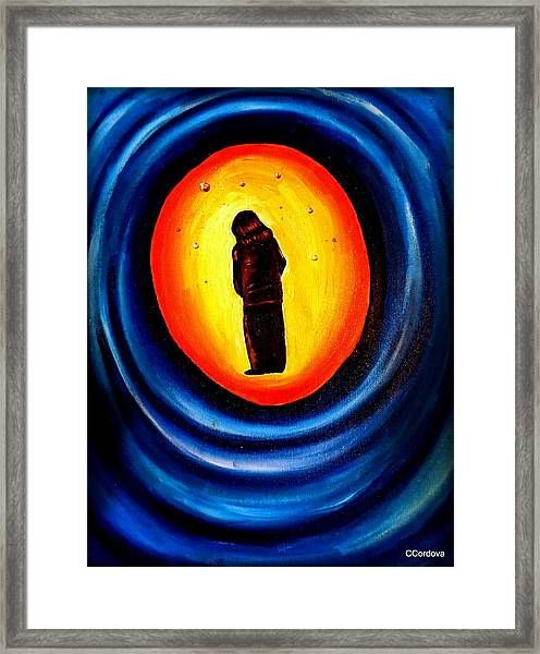 Spiritual Journey-1 Framed Print by Carmen Cordova