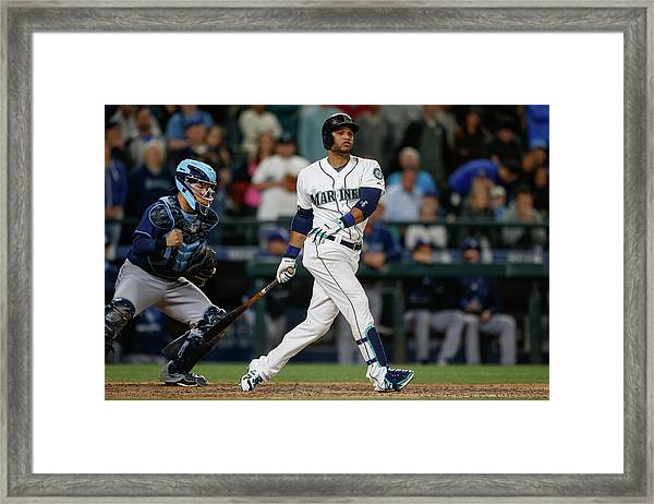 Tampa Bay Rays V Seattle Mariners Framed Print