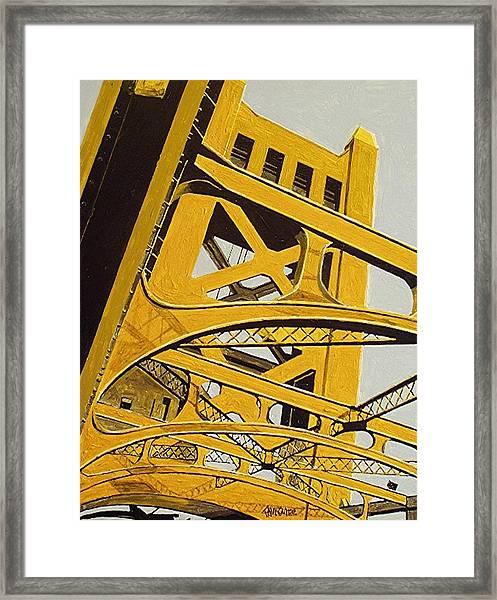 Tower Bridge Framed Print by Paul Guyer