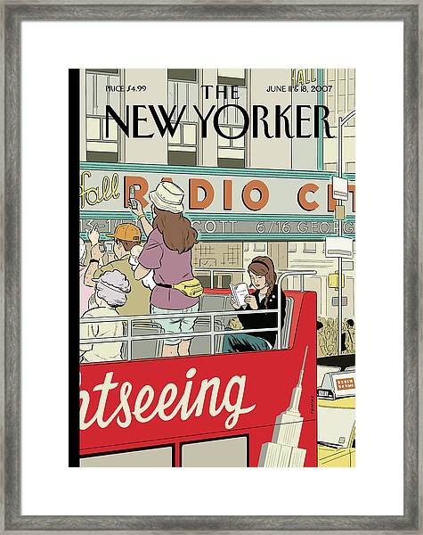 Big City Thrills Framed Print