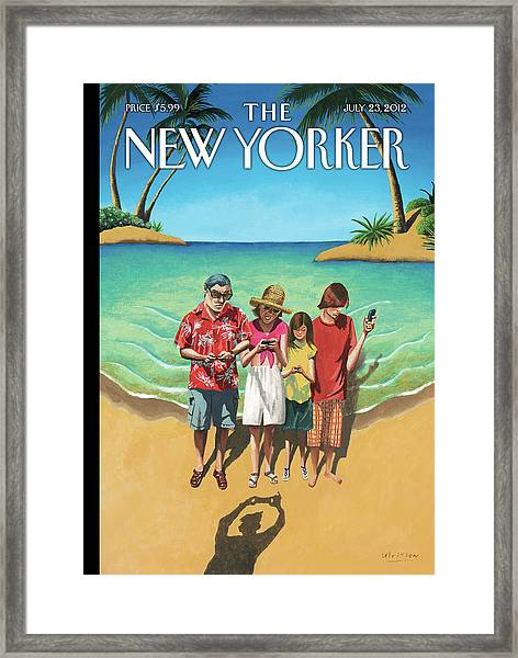 New Yorker July 23rd, 2012 Framed Print