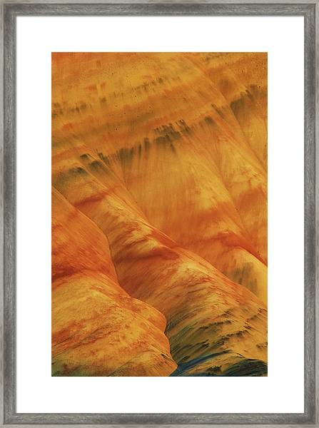 Usa, Oregon, John Day Fossil Beds Framed Print