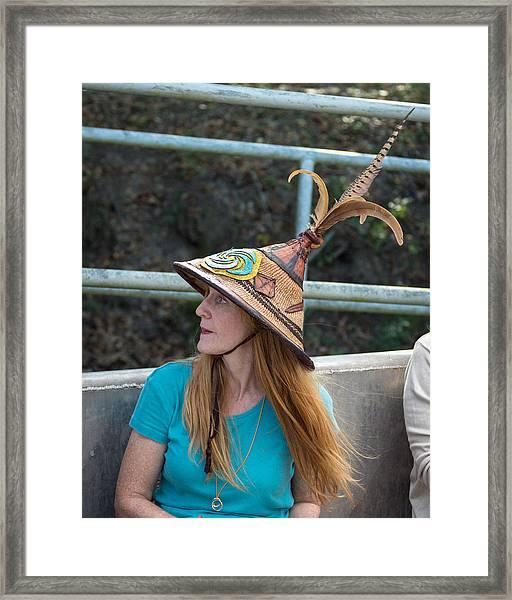 Vermillionville Boat Parade Framed Print
