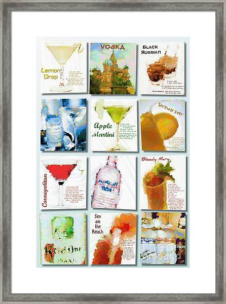 Vodka Framed Print