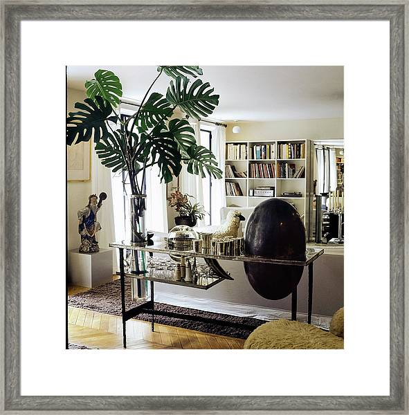 Yves Saint Laurent's Living Room Framed Print